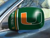 Miami Hurricanes Mirror Cover - Small