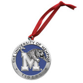 Memphis Tigers Logo Ornament