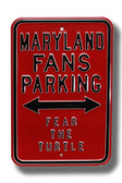 Maryland Terrapins Fear the Turtle Parking Sign