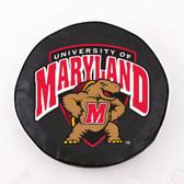 Maryland Terrapins Black Tire Cover, Small