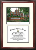 Marshall University Scholar Framed Lithograph with Diploma