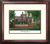 Marshall University Alumnus Framed Lithograph