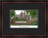 Marshall University Academic Framed Lithograph
