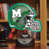 Marshall Thundering Herd Neon Helmet Desk Lamp