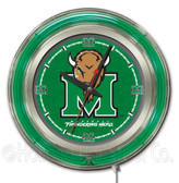 Marshall Thundering Herd Neon Clock