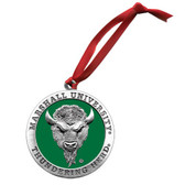 Marshall Thundering Herd Logo Ornament