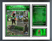 Marshall Thundering Herd Fight Song Milestones & Memories Framed Photo