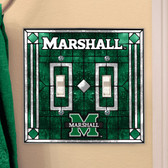 Marshall Thundering Herd Double Lightswitch Cover