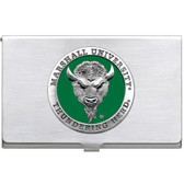 Marshall Thundering Herd Business Card Case Set
