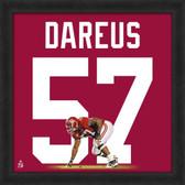 Marcell Dareus Alabama Crimson Tide 20 x 20 Framed Uniframe Jersey Photo