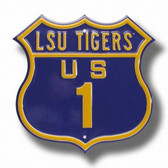 LSU Tigers Route Sign