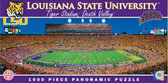 LSU Tigers Panoramic Stadium Puzzle