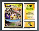 LSU Tigers Milestones & Memories Framed Photo