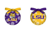 LSU Tigers LED Box Set Ornaments