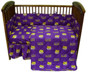 LSU Tigers Baby Crib Set