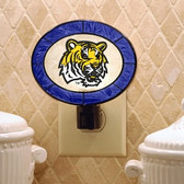 LSU Tigers Art Glass Nightlight