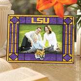 LSU Tigers Art Glass Horizontal Picture Frame