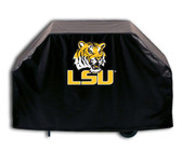 """LSU Tigers 72"""" Grill Cover"""