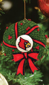 Louisville Cardinals Wreath Ornament