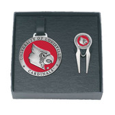 Louisville Cardinals Golf Gift Set