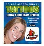 Louisville Cardinals Face Tattoos