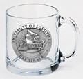 Louisville Cardinals Clear Coffee Mug Set