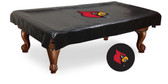 Louisville Cardinals Billiard Table Cover