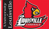 Louisville Cardinals 3 Ft. x 5 Ft. Flag w/Grommets