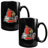 Louisville Cardinals 2pc Coffee Mug Set