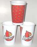 Louisville Cardinals 16 oz Cups