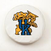Kentucky Wildcats White Tire Cover, Small TCWTKentuckyCatSM