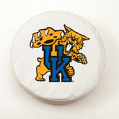 Kentucky Wildcats White Tire Cover, Large TCWTKentuckyCatLG