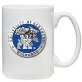 Kentucky Wildcats White Coffee Mug Set