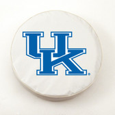 Kentucky Wildcats White Tire Cover, Large