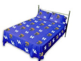 Kentucky Wildcats Solid Sheet Set (King)