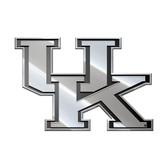 Kentucky Wildcats Silver Auto Emblem