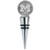 Michigan Wolverines Bottle Stopper Cone