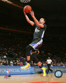 Golden State Warriors Stephen Curry Action 16x20 Stretched Canvas