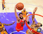 Chicago Bulls Nikola Mirotic Action 16x20 Stretched Canvas