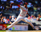 Cincinnati Reds Aroldis Chapman 2014 Action 40x50 Stretched Canvas