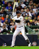 Milwaukee Brewers Ryan Braun 2013 Action 40x50 Stretched Canvas