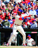 Philadelphia Phillies Domonic Brown 2014 Action 40x50 Stretched Canvas