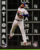 Texas Rangers Elvis Andrus 2013 Action 32x40 Stretched Canvas