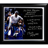 Bob Knight Facsimile 'Winning Olympic Gold' Stretched Framed 22x26 Story Canvas