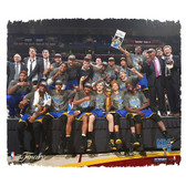 Golden State Warriors 2015 NBA Champions 22x26 Stretched Canvas