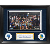 Golden State Warriors 2015 NBA Champions Framed 11x14 Collage