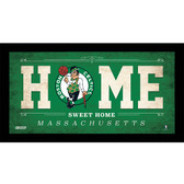 Boston Celtics 6x12 Home Sweet Home Sign