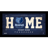 Memphis Grizzlies 6x12 Home Sweet Home Sign