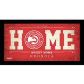 Atlanta Hawks 6x12 Home Sweet Home Sign