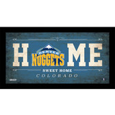 Denver Nuggets 6x12 Home Sweet Home Sign